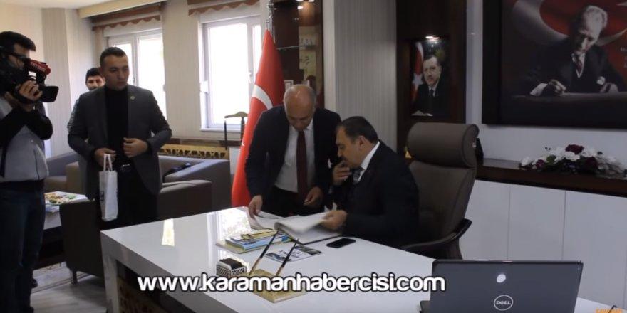 Orman ve Su İşleri Bakanı Prof. Dr. Veysel Eroğlu Karaman Ziyareti