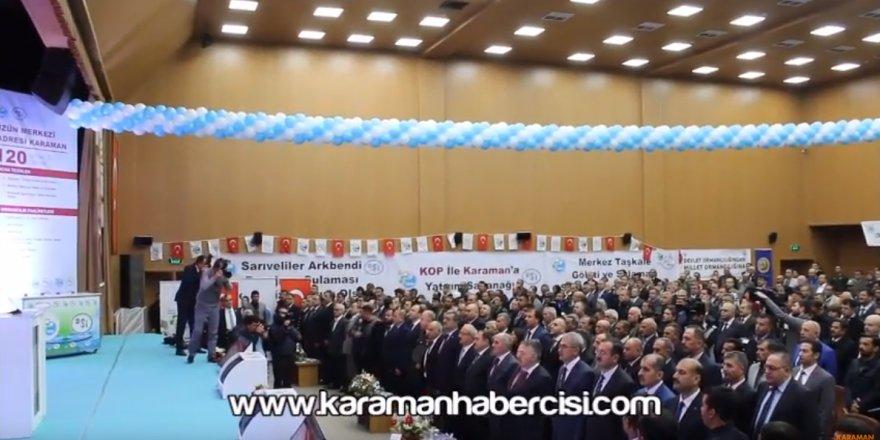 Bakanlar Karaman'da