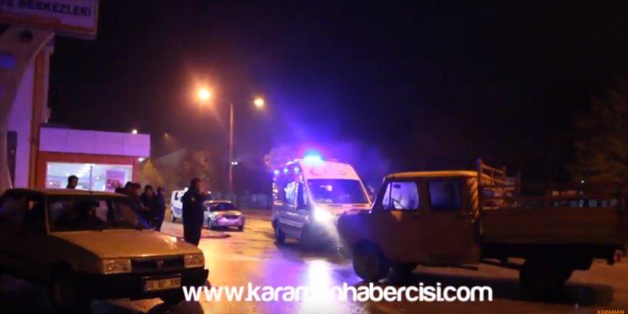 Şehit Şahin Mavi Caddesi trafik kazası