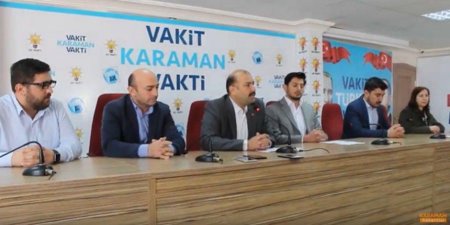 AK Parti Karaman İl Başkanı Mehmet Er