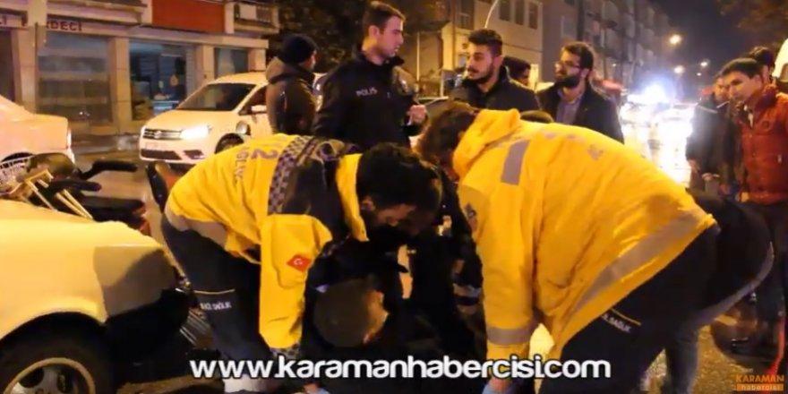 Karaman'da Trafik Kazaları