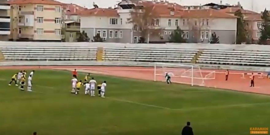 Karaman Belediyespor Ankara Çubukspor penaltı atışı