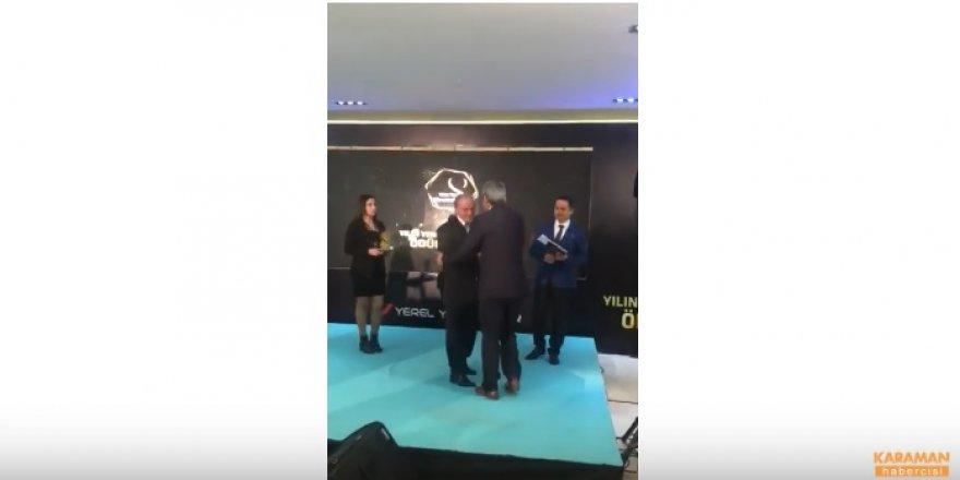 Ayrancı Belediyesi'Ne Hizmet Ödülü