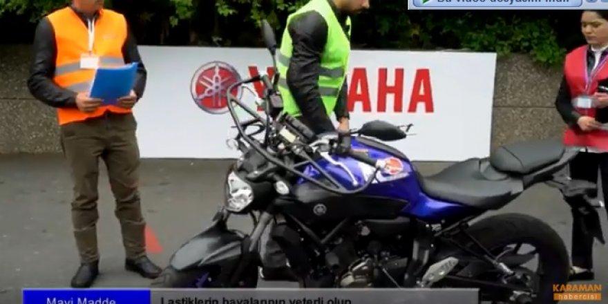 MTSK Motosiklet Direksiyon Uygulama Sınavı