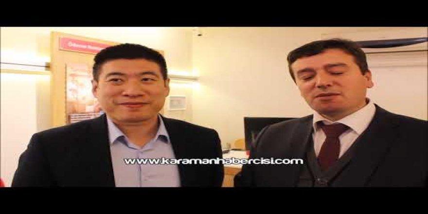 OPPO Türkiye Genel Müdürü Weijian Zhou Karaman Ziyareti