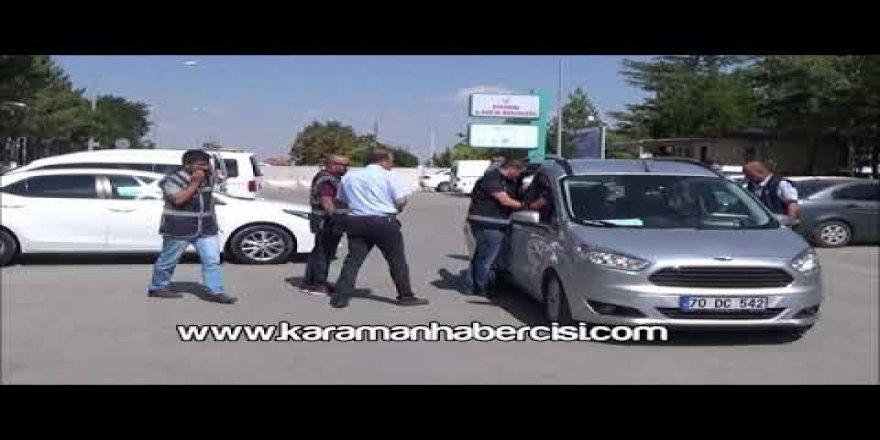 Karaman'da aranan şahıs yakalandı