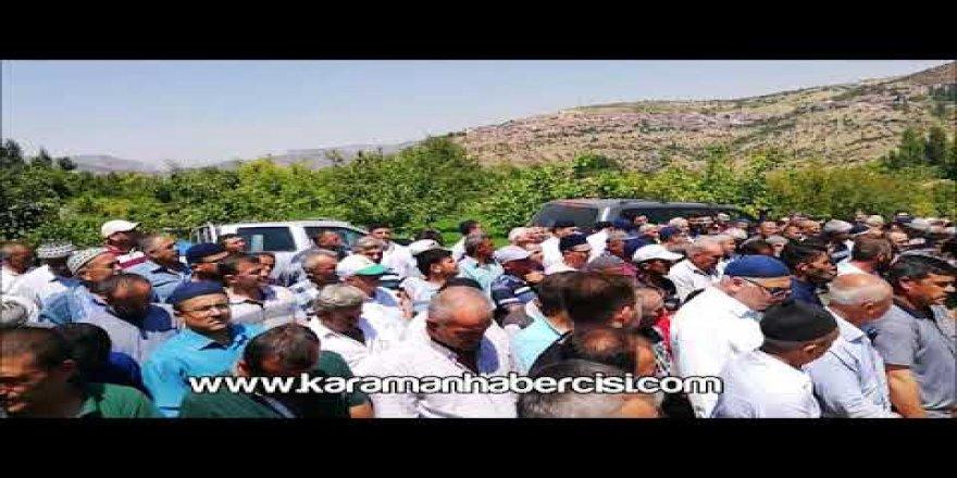 Ali Beki Uçar Cenaze Namazı