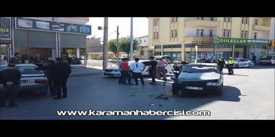 İbrahim Öktem Caddesi üzeri trafik kazası