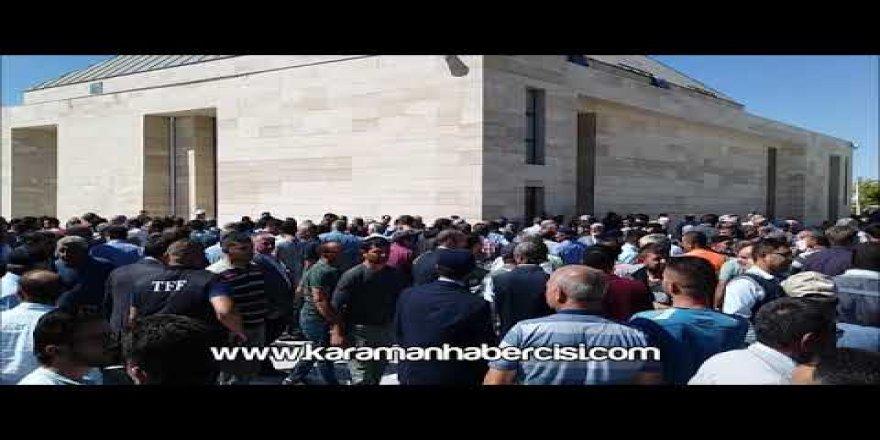 İrfan Erim Cenaze Namazı